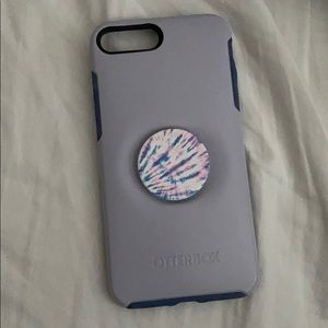 Otter Box Pop Socket Colab Case IPhone 8 Plus